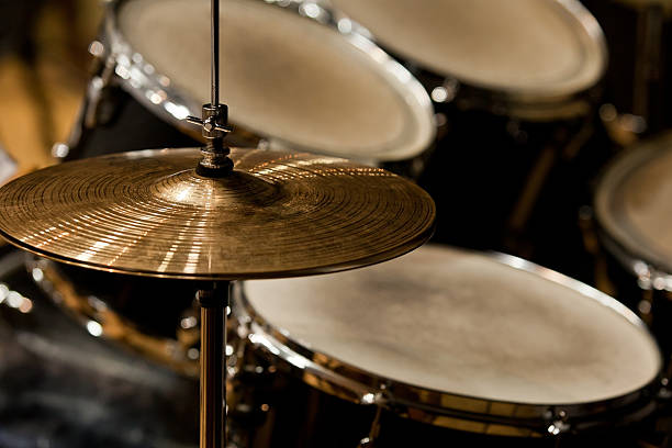 Führen zu einer Fragmentierung drumset – Foto