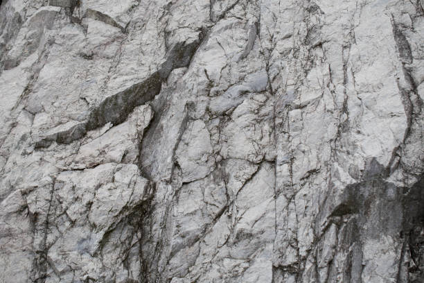 Fragment of a rocky surface stock photo