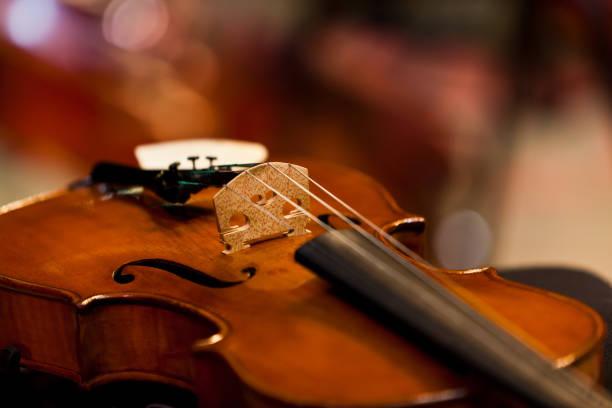 Fragment einer Geige – Foto