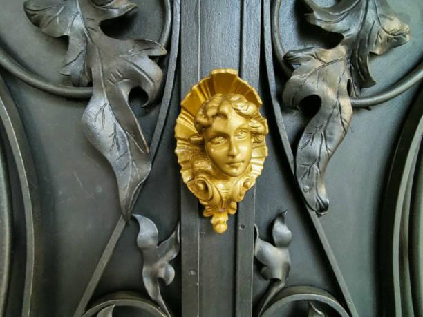 Fragment of an old door – zdjęcie