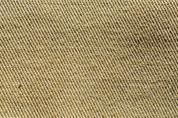 Fragment of cotton khaki. stock photo