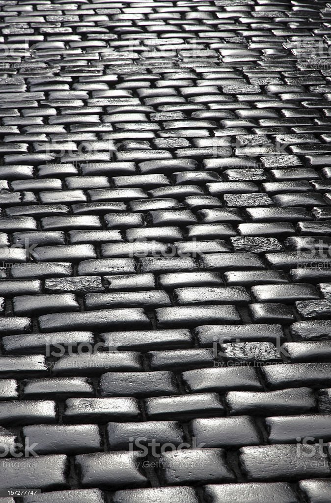 Fragment of pavement surface royalty-free stock photo