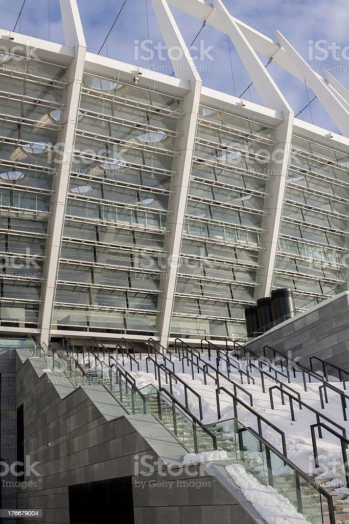 Fragment of stadium royalty-free stock photo