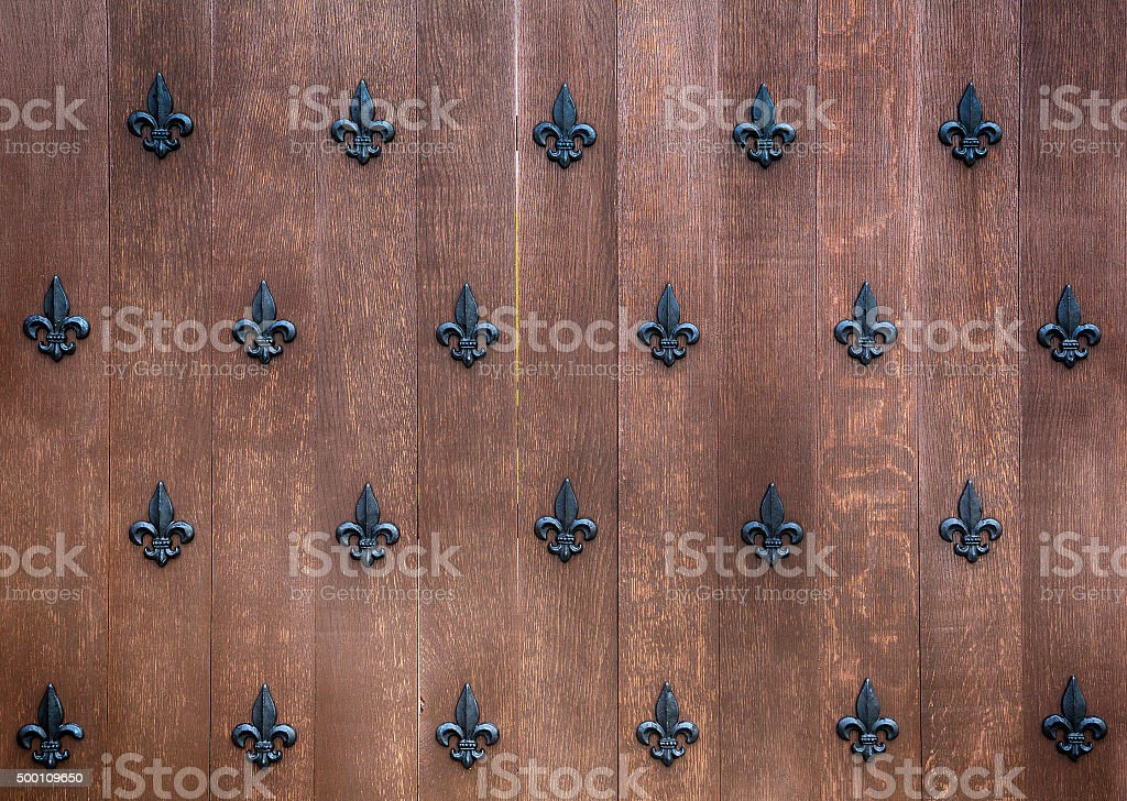 fragment of the ancient gates stock photo