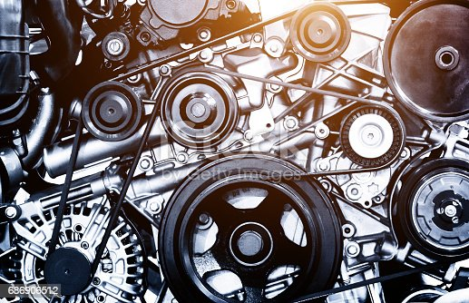 istock A fragment of the engine 686906512