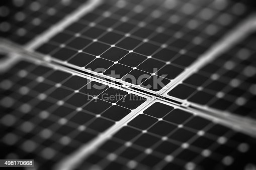 istock Fragment of the solar battery 498170668