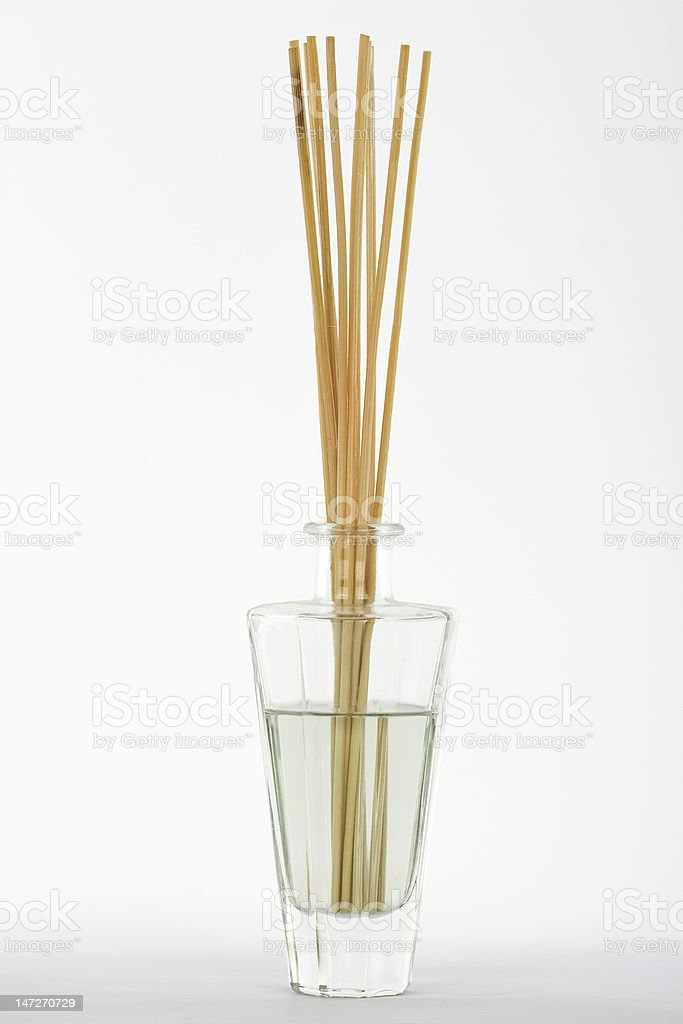 fragrance reed diffuser royalty-free stock photo