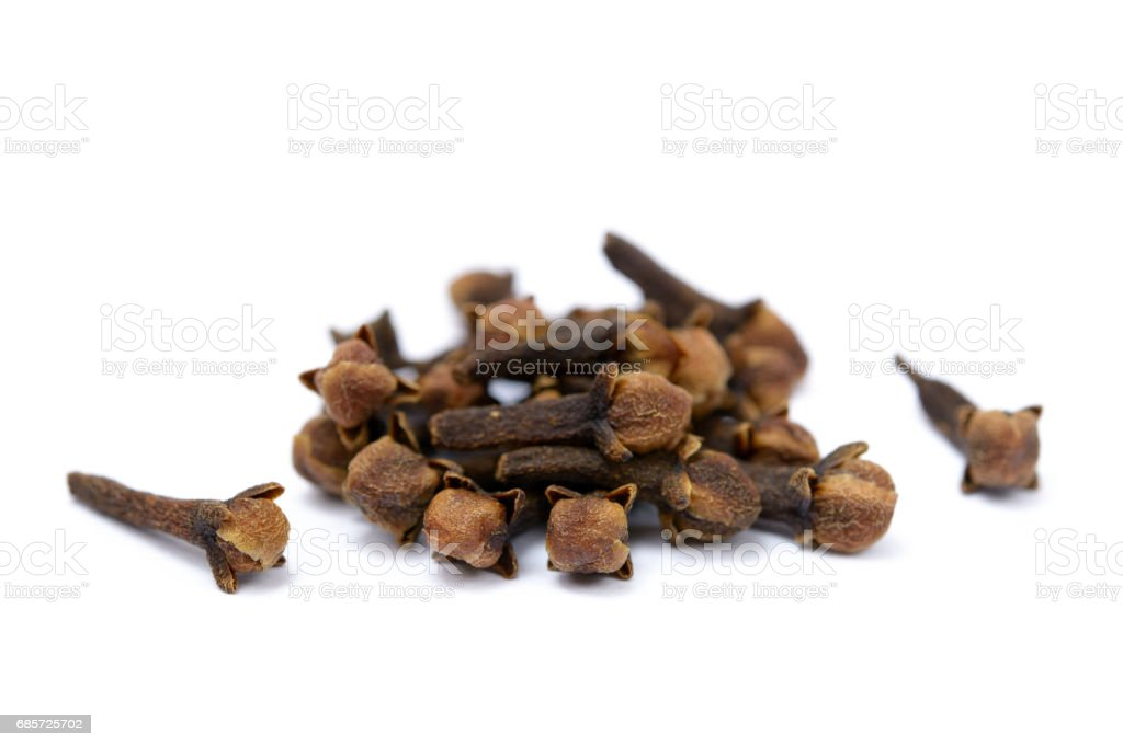 Fragrant spices cloves foto de stock royalty-free