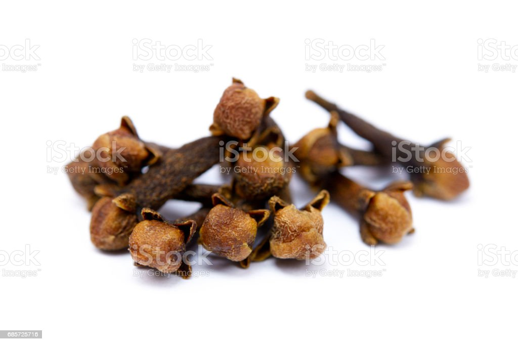 Fragrant spices cloves royalty-free stock photo