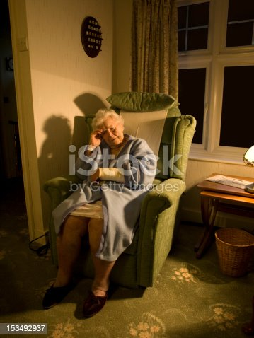 istock Frail suffering old lady with injury 4 153492937