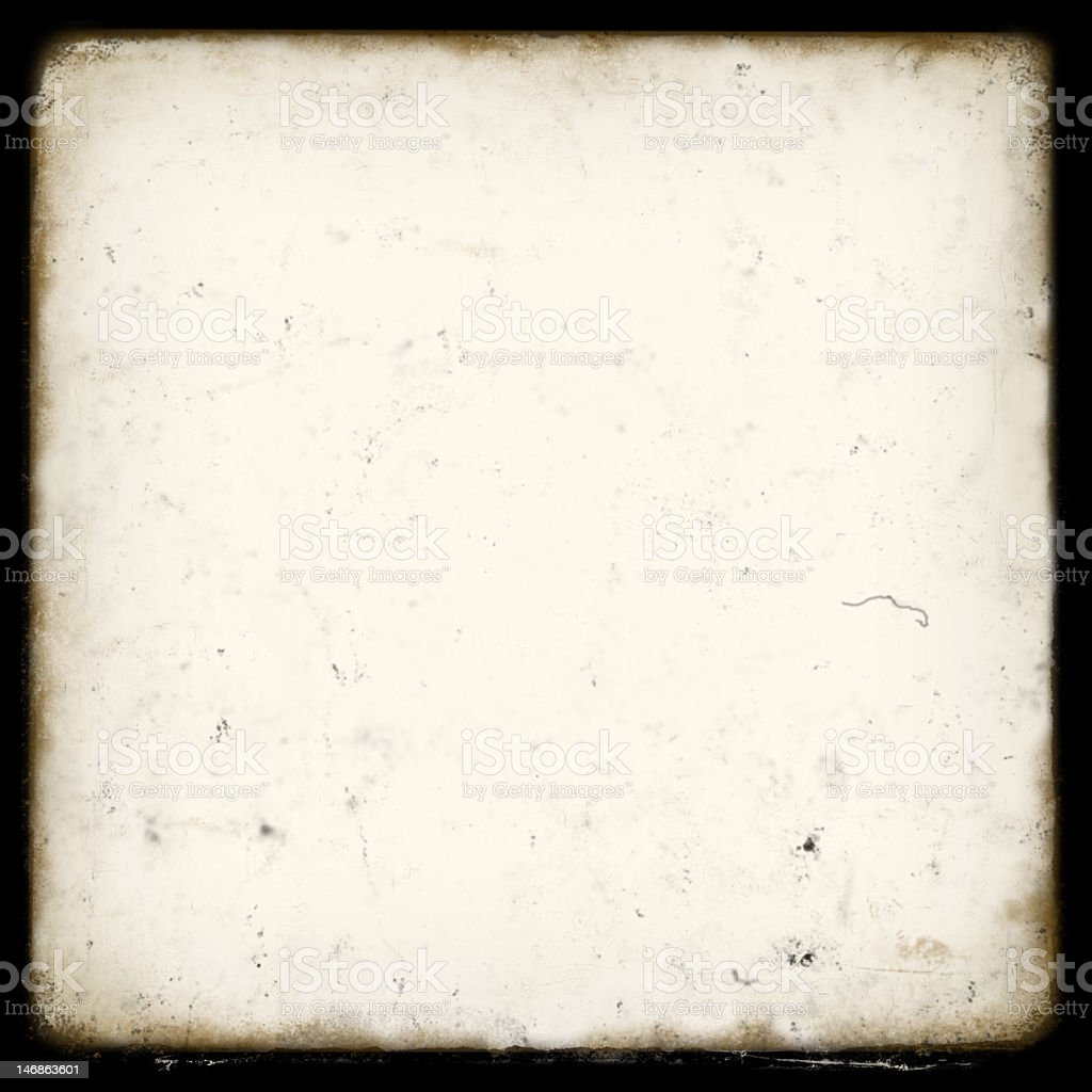 TTV Frame . dirty royalty-free stock photo