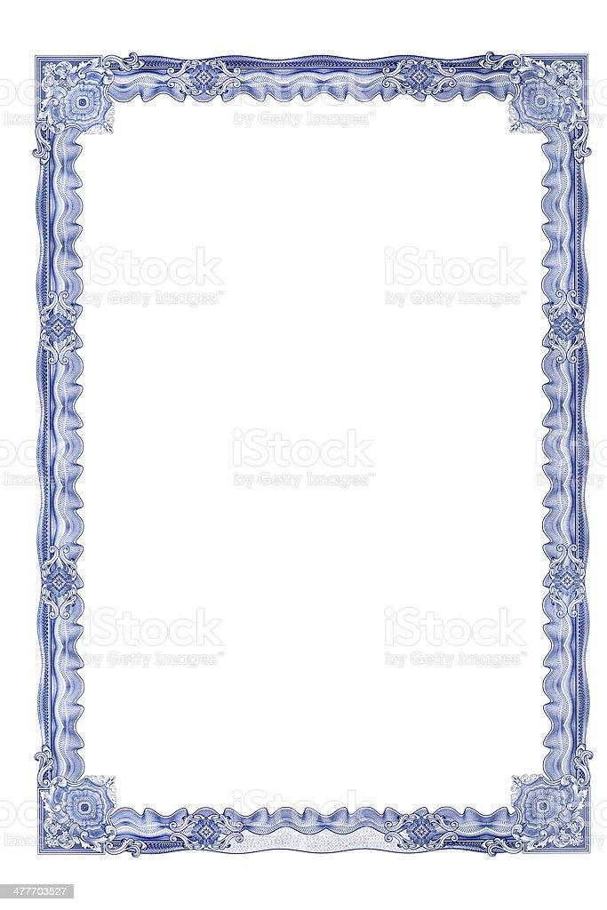 Frame Für Zertifikat Stockfoto Und Mehr Bilder Von Bilderrahmen Istock