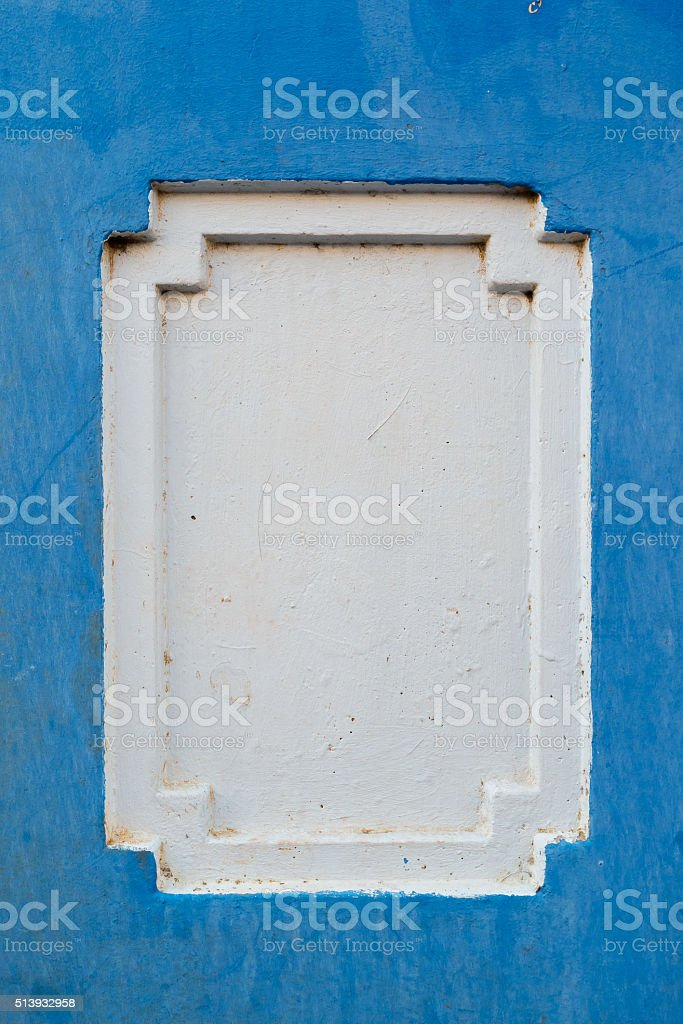 frame grunge cement wall background stock photo