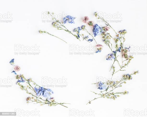 Frame made of dried flowers on white background picture id656951382?b=1&k=6&m=656951382&s=612x612&h=oflbdqr2dbdghpcjqhzztetmjztdfahyebwlcym qzu=