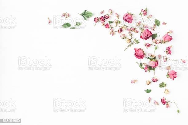 Frame made of dried rose flowers flat lay top view picture id638454860?b=1&k=6&m=638454860&s=612x612&h=43ytk3flru0jjdgx 24fonge1uwzsospfissioliz q=