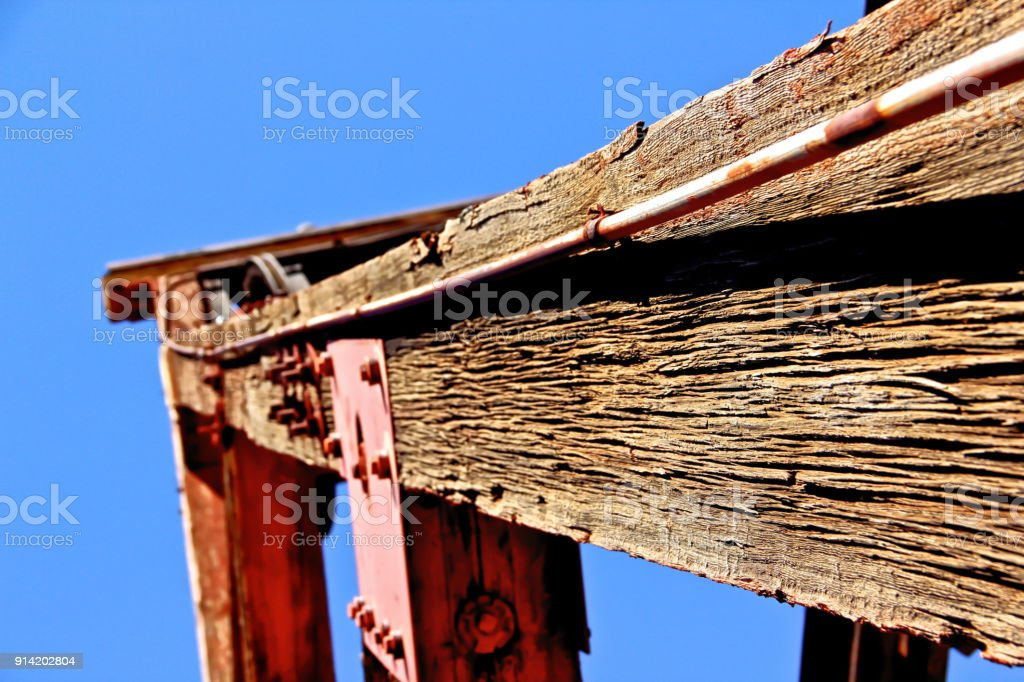 Frame Of An Oil Well In Jerome Arizona Stock Photo & More Pictures ...