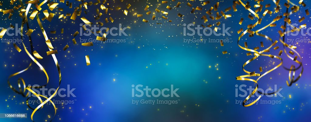 frame of beautiful party decoration stock photo