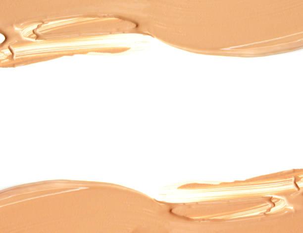 Cadre du maquillage de teint liquide - Photo
