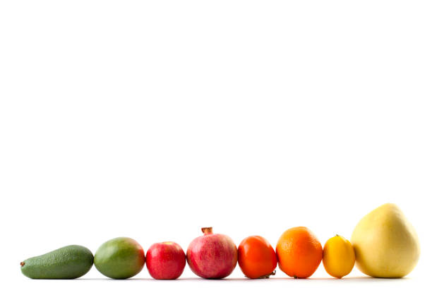 Frame of Mixed fruits stock photo