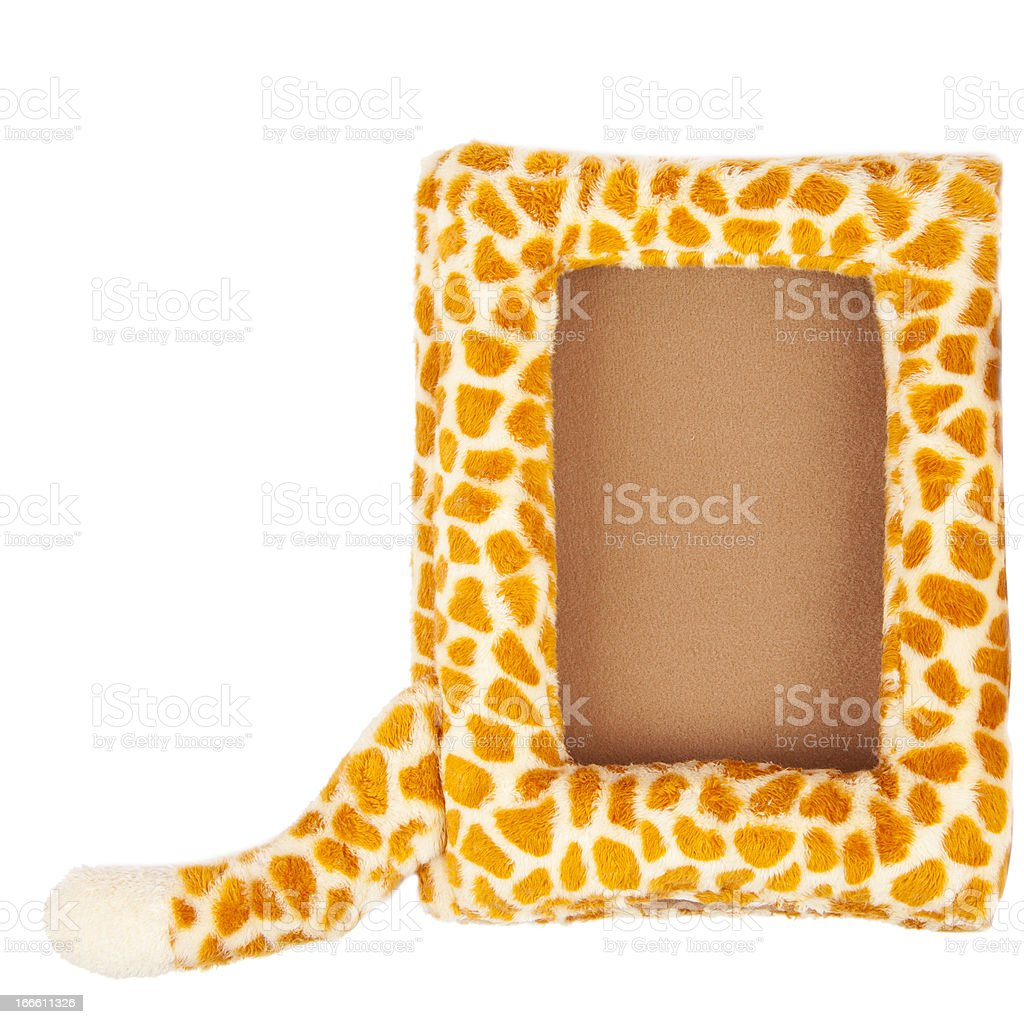 frame of the artificial material fabric royalty-free stock photo