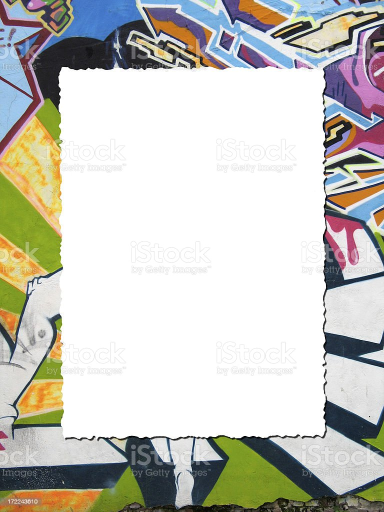 frame on colors royalty-free stock photo