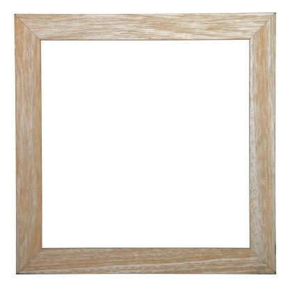 Isolated Blank Photo Frame