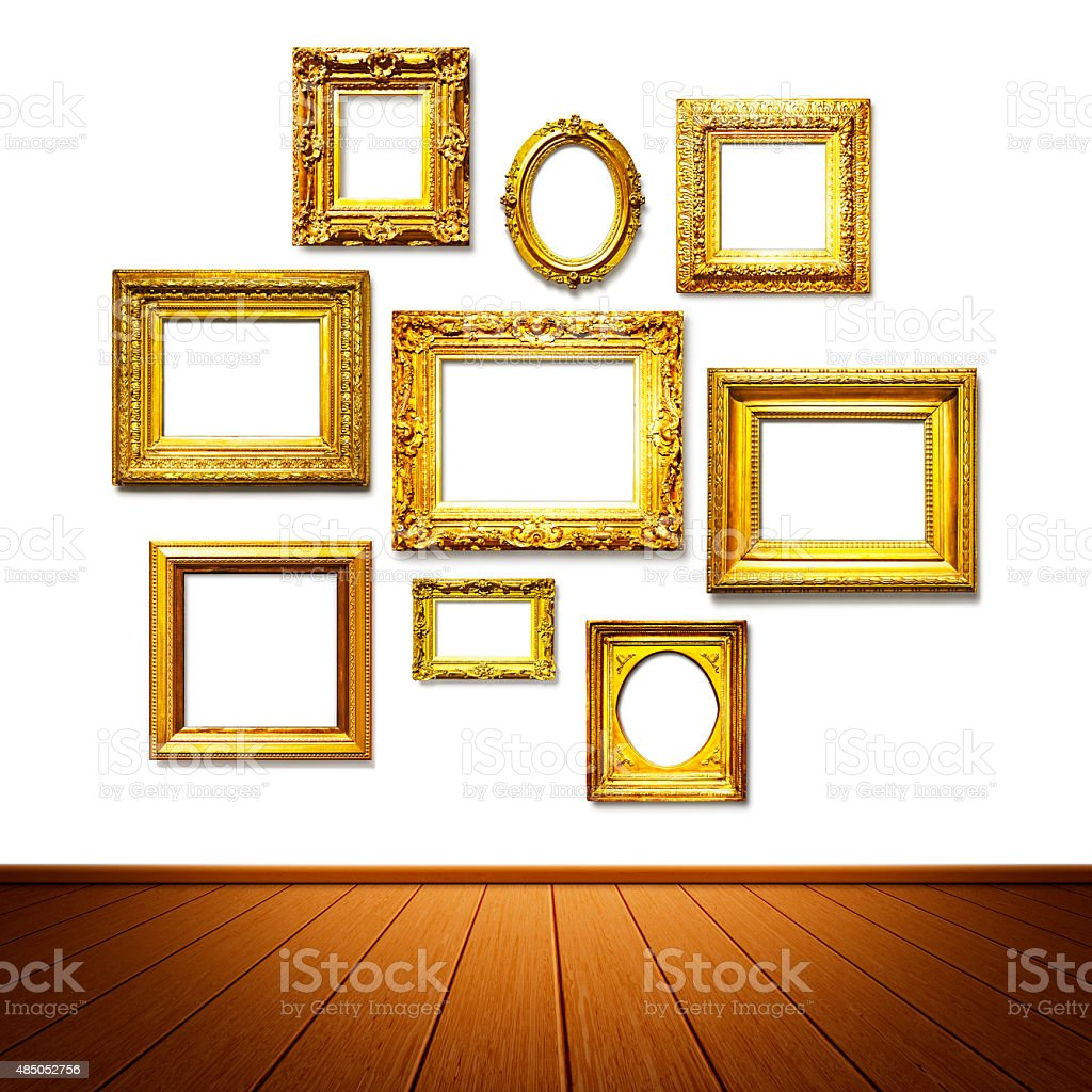 Frame Wall Stock Photo & More Pictures of 2015 | iStock