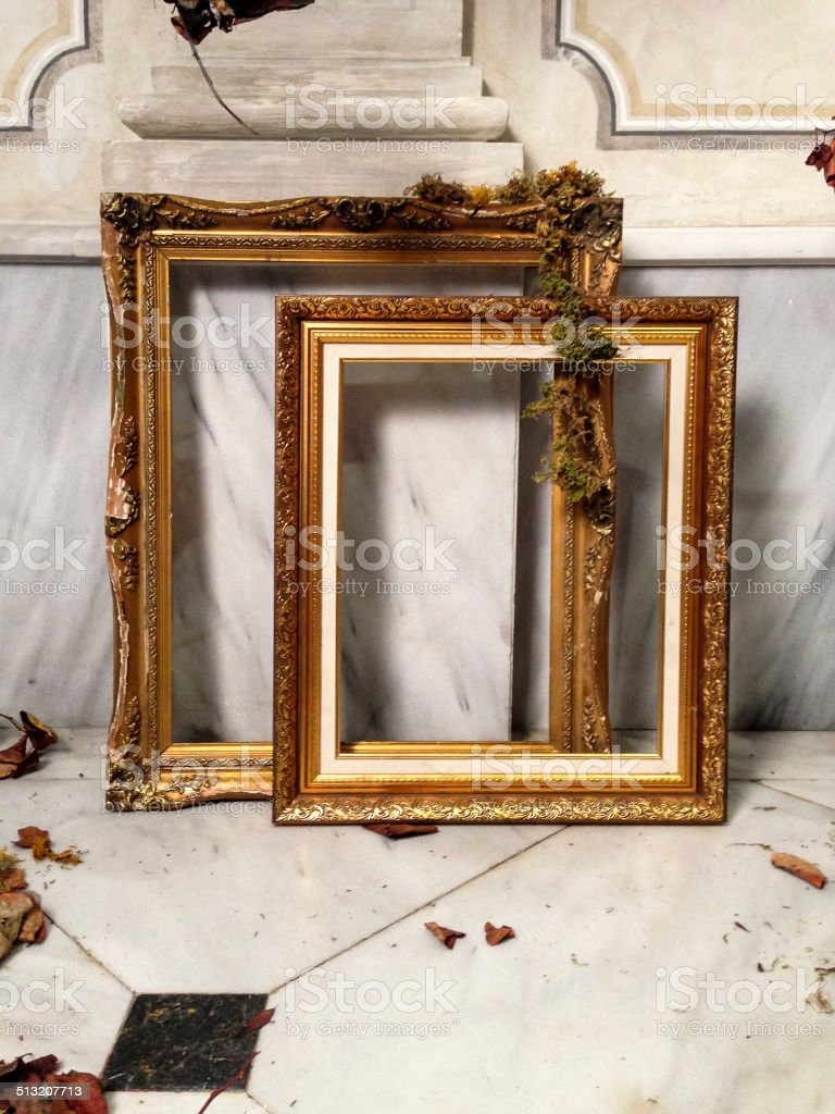 Frame with Decoration stock photo