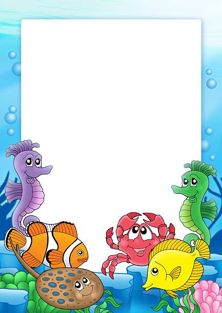 royalty free cartoon of the coral reef pictures images and stock