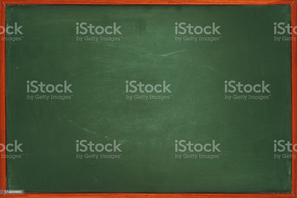 Framed blackboard royalty-free stock photo