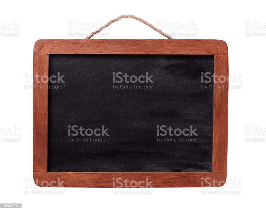 Framed chalk blackboard royalty-free stock photo
