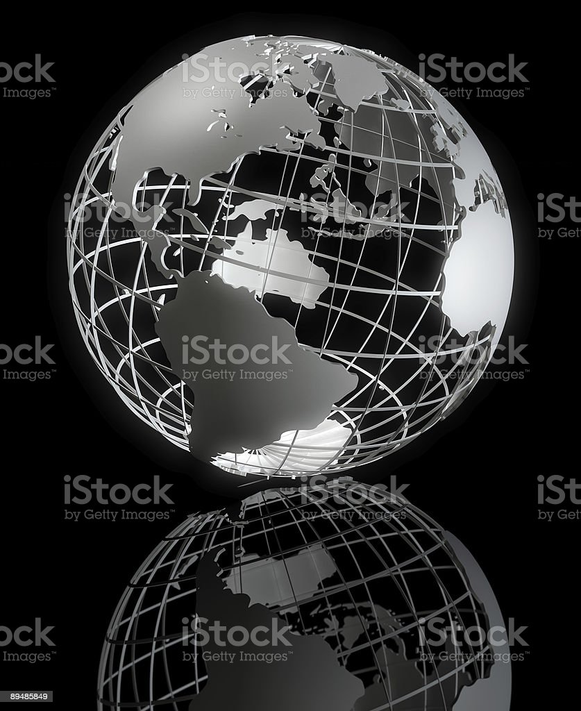 Framed Earth Series royalty-free stock photo