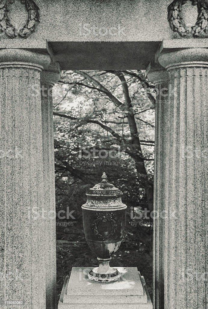 Framed in Granite royalty-free stock photo