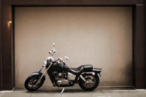 Framed Motorcycle