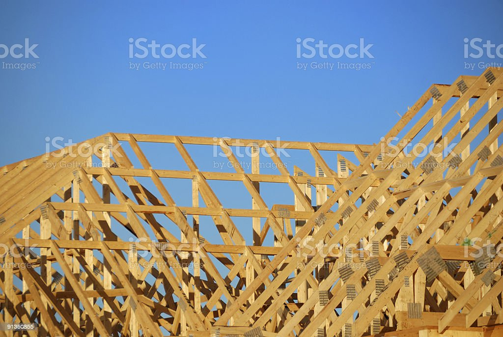 Framed Roof royalty-free stock photo