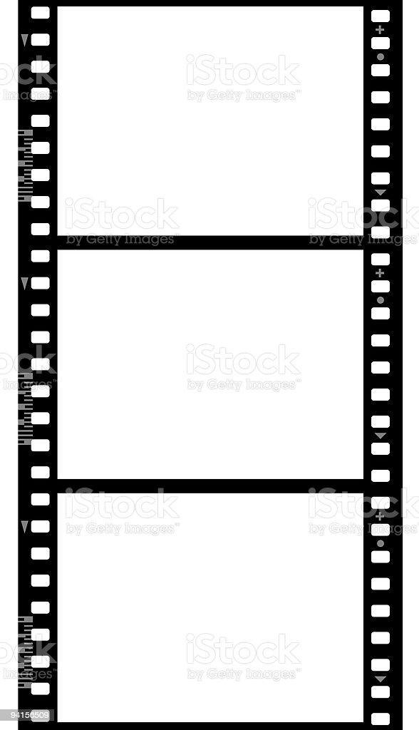 Frames of photographic film ( seamless) stock photo