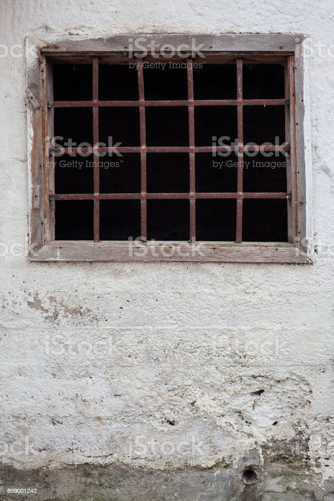 Frames of the Old Stable royalty-free stock photo