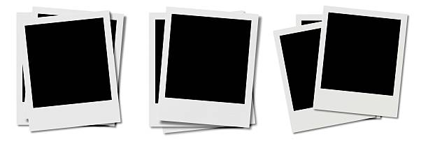 Frames stacked stock photo