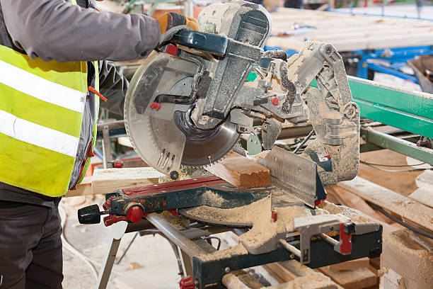 Royalty Free Miter Saw Pictures, Images and Stock Photos - iStock