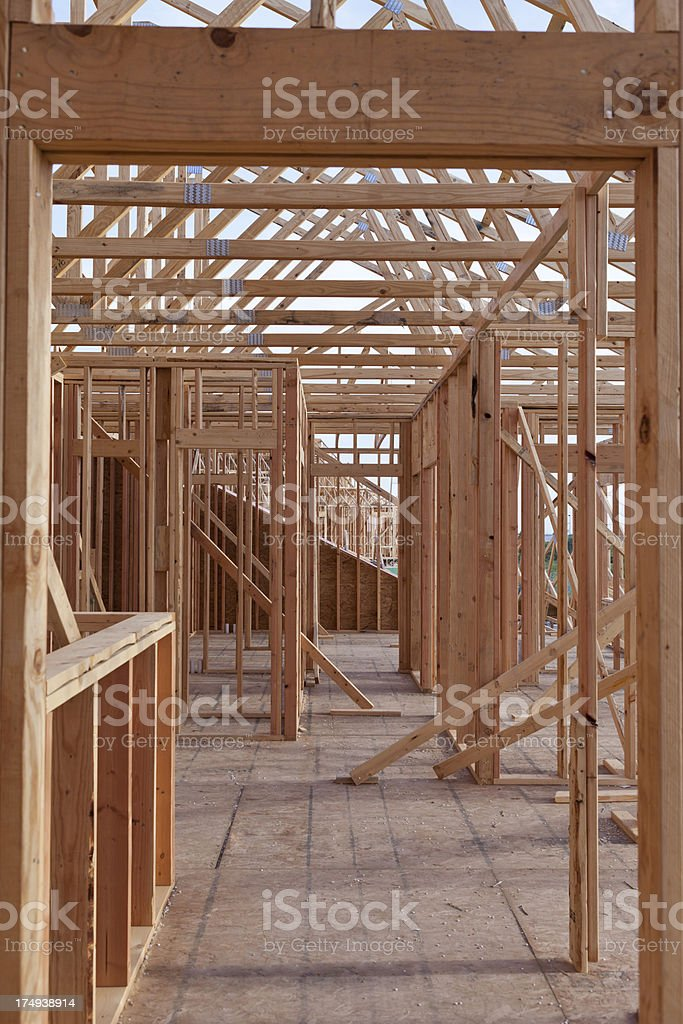 Framing in Development royalty-free stock photo
