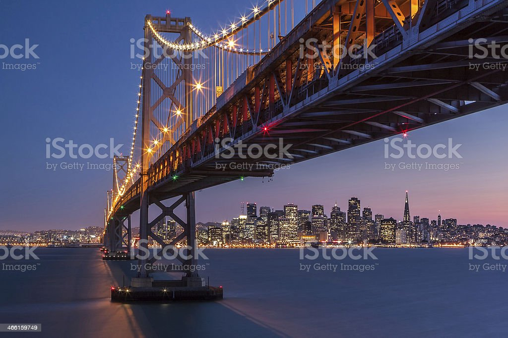 Framing San Francisco stock photo