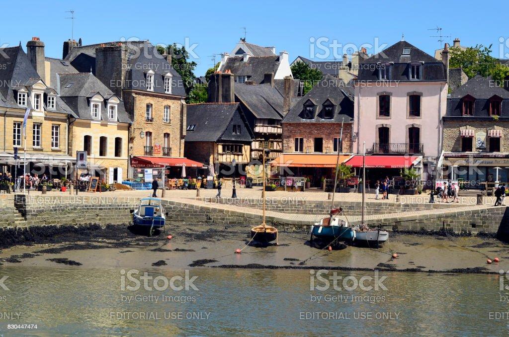 Francia, Auray, - foto de stock