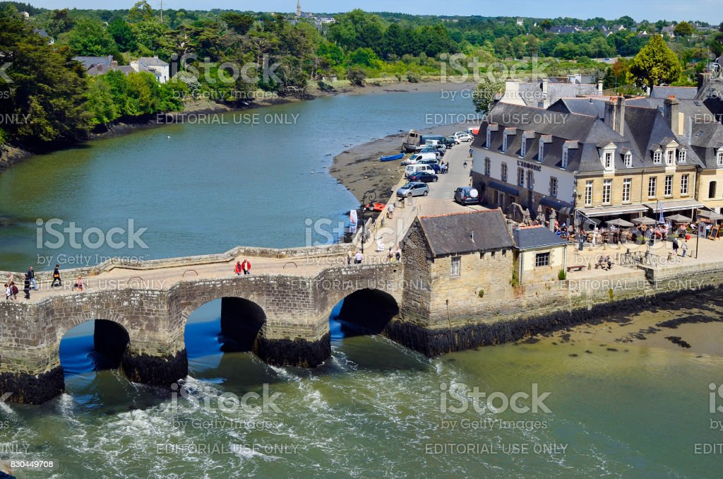 Francia, Auray - foto de stock