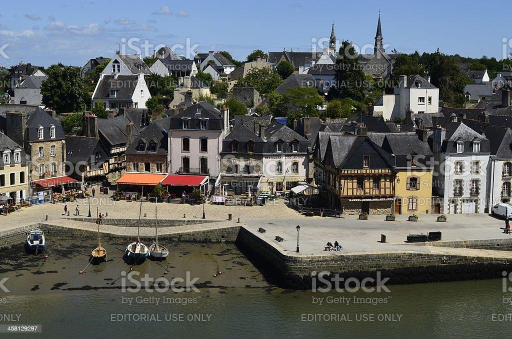 Francia, Gran Bretaña, Auray Village - foto de stock