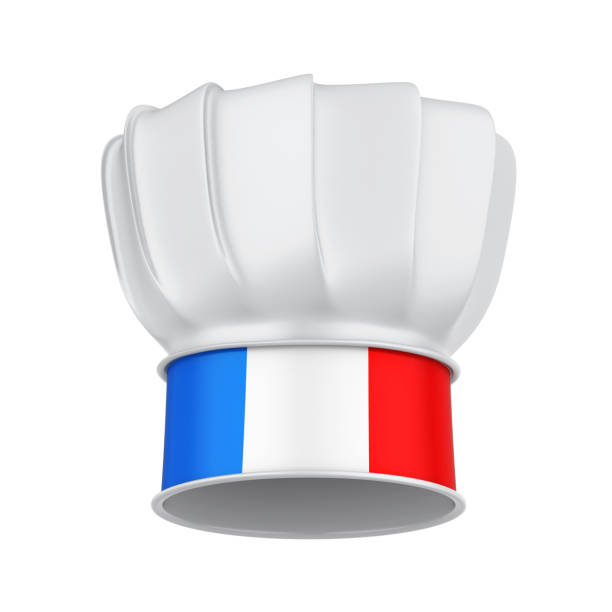 France Chef Hat Isolated stock photo