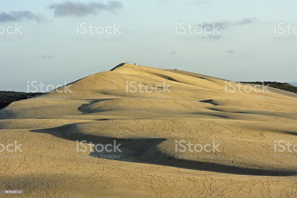 France - Europe's highest dune near Arcachon royalty-free stock photo