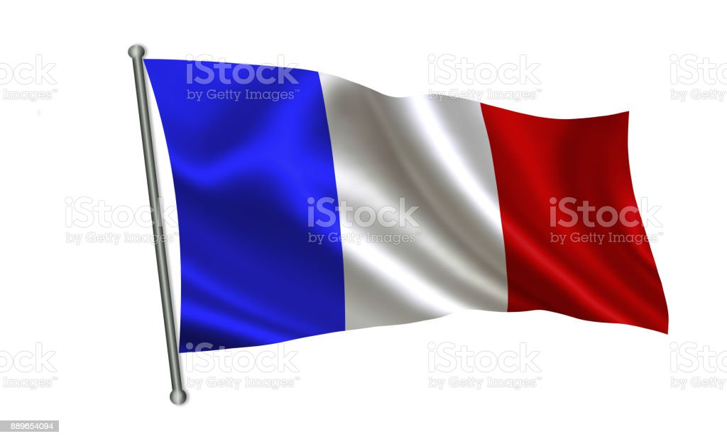 France Flag A Series Of Flags Of The World Stock Photo ...