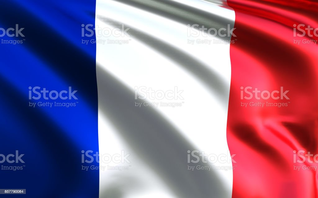 France flag. French flag stock photo