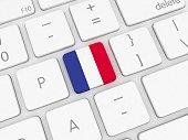 France flag keyboard