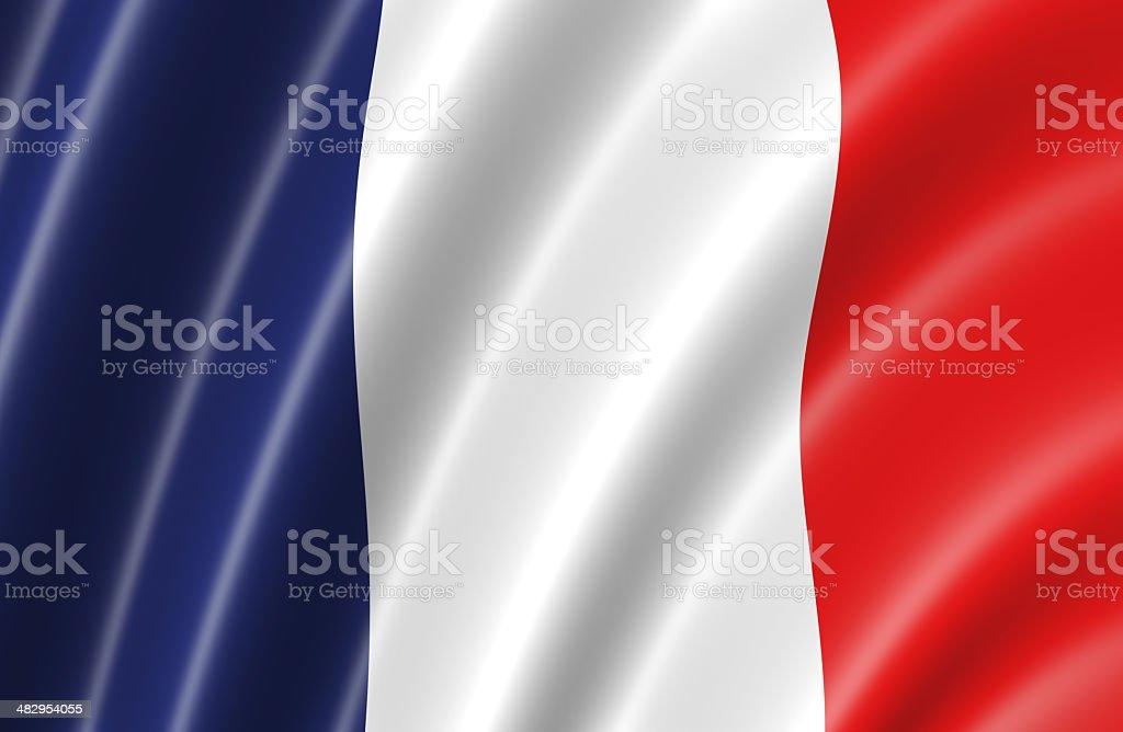 France Flag stock photo